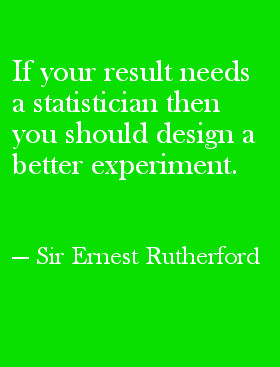 Ernest Rutherford Quote